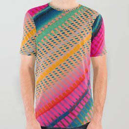 Color Wave ~003~ All Over Graphic Tee