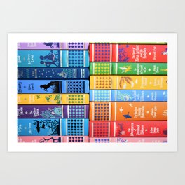 Leather Bound Classic Series - Part 1 Art Print