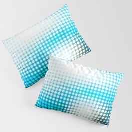 Blue Lights by Friztin Pillow Sham