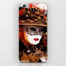 Mask 11 iPhone & iPod Skin