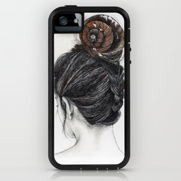 Shell woman iPhone Case