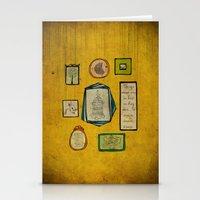 frames Stationery Cards featuring Frames by Duru Eksioglu