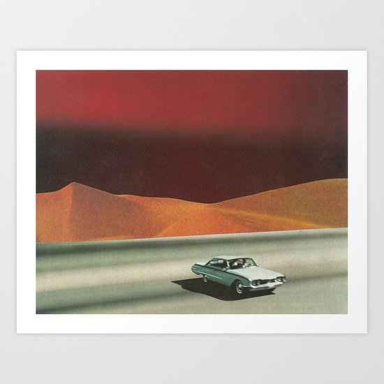 The Great Divide Art Print