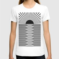sunrise T-shirts featuring Sunrise by Alfani Photography