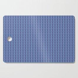 Ikat Purple Cutting Board