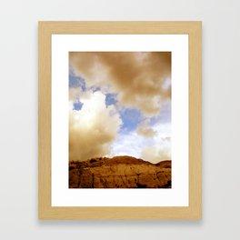 Badlands Sky Framed Art Print
