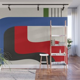 TAKE ME OUT (abstract geometric) Wall Mural