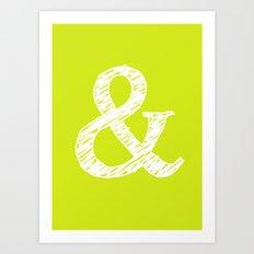 letters Art Print