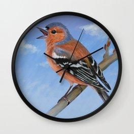 Spring sky Wall Clock