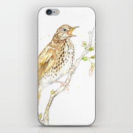 British Birds - Song Thrush iPhone Skin