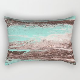 Tidal Shifts of Dawn and Dusk Rectangular Pillow