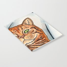 Ginger Cat Notebook
