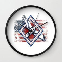 USA eagle - LBC Wall Clock