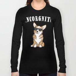 Corgi - incorgnito Long Sleeve T-shirt