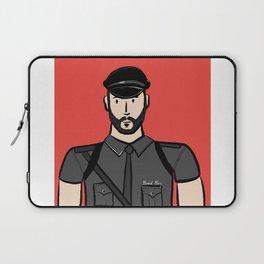 Beard Boy: Alberto Laptop Sleeve