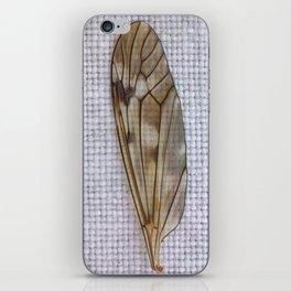 C'est folie de vouloir voler sans aile (It's crazy to want to fly without a wing) iPhone Skin