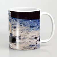 lawyer Mugs featuring Astronaut lawyer  by rivercbishop