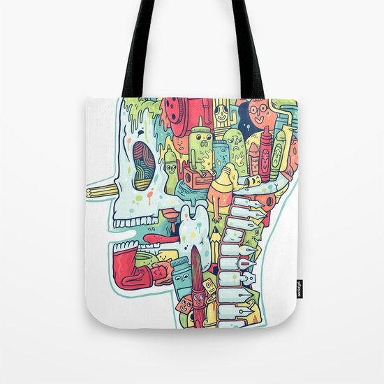 Illustrator to the Bone Tote Bag