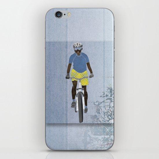 Bicycle girl 1 iPhone & iPod Skin