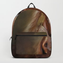 Saluki Portrait Of The Ancient Hound Backpack