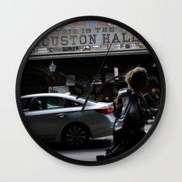 Houston Hall Wall Clock