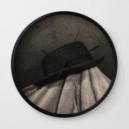 Still Life -  Hat Wall Clock