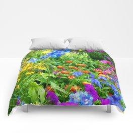 Wild Flower Garden Comforters
