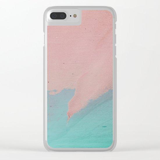 Beach Love, Beach Bliss 2 Clear iPhone Case