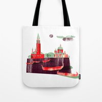 venice Tote Bags featuring Venice by Claudia Voglhuber
