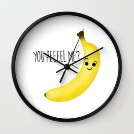 You Peeeel Me? Wall Clock