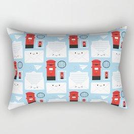 Happy Mail - Kawaii Post Rectangular Pillow