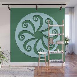 "Geometic Print ""Octo"" Wall Mural"