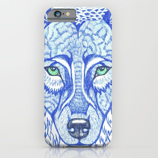 ice wolf iPhone & iPod Case
