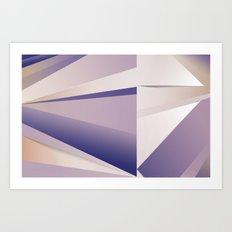 Purple Glam Art Print