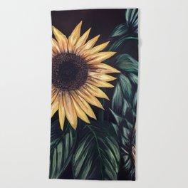 Sunflower Life Beach Towel