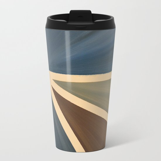 Left Metal Travel Mug