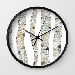 Forest Fetish Wall Clock