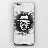 rorschach iPhone & iPod Skins featuring Rorschach by Vickn