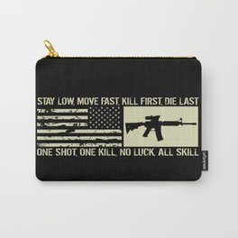 M4 Assault Rifle & Tactical Flag Carry-All Pouch