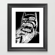 Too old for this job. Framed Art Print