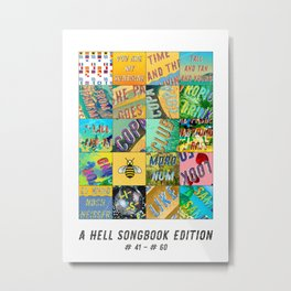 Hell Songbook Edition Complete # 41-60 Metal Print