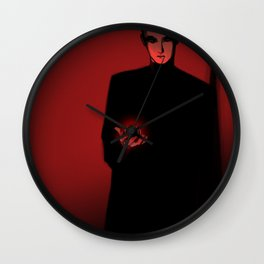 Is this how the devil looks like? Wall Clock