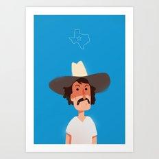 Lone Star Art Print