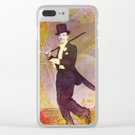 Fred Astaire Clear iPhone Case