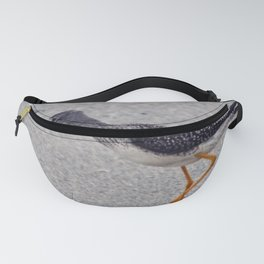 Greater Yellowlegs  Walking on the Beach Fanny Pack