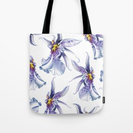 GLOWY ORCHIDS Tote Bag
