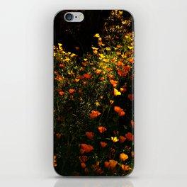 Beautiful garden flowers iPhone Skin