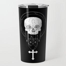 Anti-Church Death Metal Skull Travel Mug