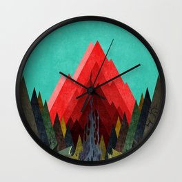 Mc Mountain XXVI Wall Clock