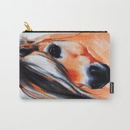 Norwegian Fjord Horse Portrait Carry-All Pouch